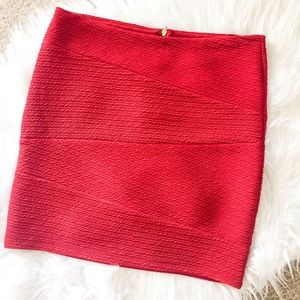 NWOT Forever 21 Sexy Red Mini Skirt